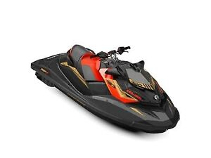 2019 Sea-Doo RXP-X 300 Black and Lava Red