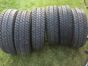6 Goodyear Wrangler Silent Armor - LT235/80/17 - 60% - $140 For All 6