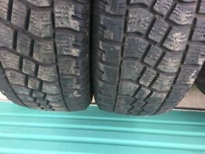 2x 225 70 16 Avalanche X-Treem Winter Tires