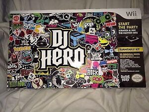 DJ hero wii in mint shape