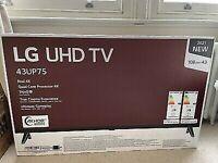 """43"""" LG 4K TV - Brand New"""