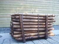 2 to 3 creosote stakes 160 in a pack