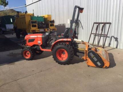 Compact Tractor and attachments