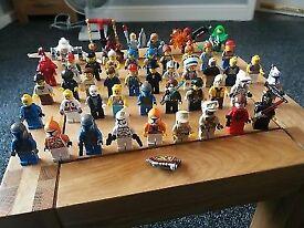 lego figures x 46