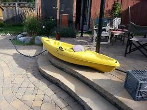 Sit on Kayak with Paddle
