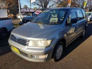 2003 Mitsubishi Nimbus UG Grey 5 Speed Manual Wagon Campbelltown Campbelltown Area Preview