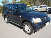 2003 Mitsubishi Pajero NP GLS LWB (4x4) Blue 5 Speed Auto Sports Mode Wagon Deception Bay Caboolture Area Preview