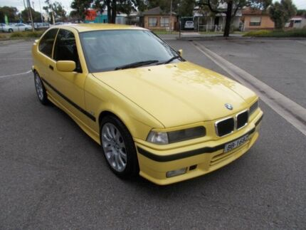 1997 BMW 318TI Sport Yellow Blaze 5 Speed Manual Hatchback Alberton Port Adelaide Area Preview