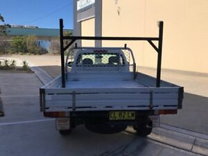 2006 Holden Rodeo RA MY06 LX Cab Chassis Space Cab 2dr Man 5sp 3.6i White Manual Cab Chassis