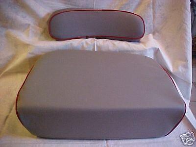 Massey Ferguson Seat And Backrest For Mf98 Mf130 Mf135 Mf150 Mf175 Mf185
