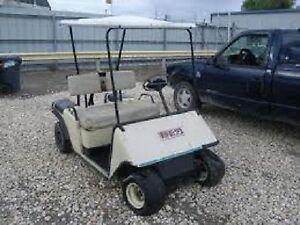 Golf Cart, scrap,burnt,damaged, broke, or smashed