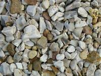 Cotters gold garden/driveway stones, chips, gravel