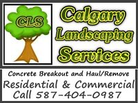 Calgary Landscaping Service Concrete Break Out and Removal