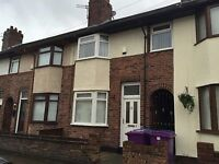Witton Road L13 - Three bedroom unfurnished house to let