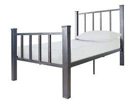 Gabe Black Bed Frame - Single