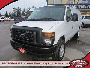 2013 Ford E250 WORK READY SUPER DUTY MODEL 2 PASSENGER 4.6L - V8