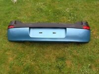 VAUXHALL CORSA C BACK BUMPER GREEN COLOUR @@@@ ALSO HAVE OTHER CORSA AND TOYOTA PARTS CALL ME