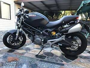 2012 Ducati 659 Monster with carbon fibre fairing for sale