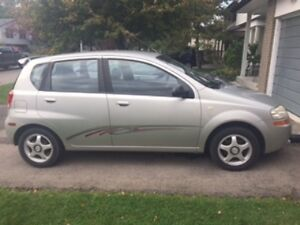 2005 Pontiac Wave Uplevel Wagon