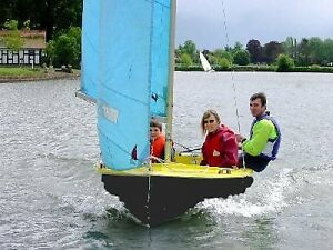15 ft Fiberglass Enterprise -  Perfect  Cottage Sailboat