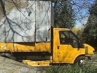 2000 FORD TRANSIT 350 MK6 MWB TD TIPPER 2.4 BREAKING FOR SPARES PARTS WHEEL NUT