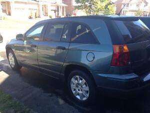 Low mileage and excellent condition 2007 Chrysler Pacifica Wagon