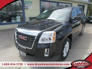 2015 GMC Terrain LOADED SLE EDITION 5 PASSENGER 2.4L - DOHC.. AW