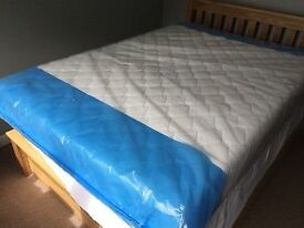 NEW KING WARREN EVANS MATTRESS. COLLECTION FROM BLACKBURN OR CAN DELIVER.
