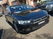 2008 Mitsubishi Lancer CJ ES Black 6 Speed CVT Auto Sequential Sedan Campbelltown Campbelltown Area Preview