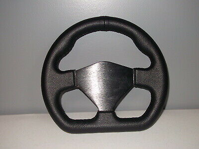 D Shaped Dragster Steering Wheel