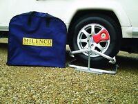 Milenco Aluminium Caravan/Motorhome Leveller Level with Storage Bag