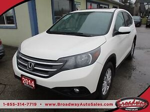 2014 Honda CR-V ALL-WHEEL DRIVE EX MODEL 5 PASSENGER 2.4L - DOHC