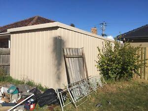 Garage shed