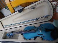 Antoni Blue Violin - AV30BL 4/4 Full Size
