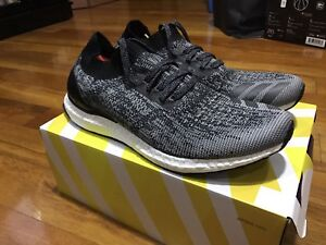 ADIDAS ULTRA BOOST UNCAGED GREY SIZE US11 NMD YEEZY TRIPLE WHITE BLACK