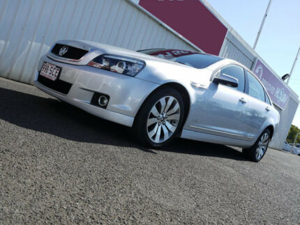 2011 Holden Caprice WM II V Silver 6 Speed Sports Automatic Sedan