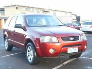 2005 Ford Territory SX TX (RWD) Burgundy 4 Speed Auto Seq Sportshift Wagon Maidstone Maribyrnong Area Preview