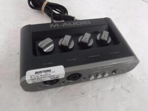 M-Audio Digital Recording Interface. We Buy and Sell Used Pro Audio Equipment. 114936