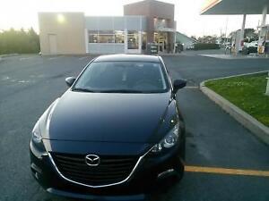 Transfert de bail Mazda 3 GX SKY ACTIVE 2015***INCITATIF 500$