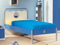 Ocean Single Bed and Bedside