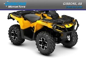 2016 Can-Am Outlander XT 850 Edmonton Edmonton Area image 1