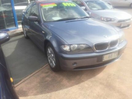2003 BMW 318I E46 Executive Blue 5 Speed Auto Steptronic Sedan