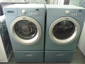 48- FRIGIDAIRE AFFINITY DEEP CLEAN Laveuses Secheuses Frontale Frontload Washers Dryers