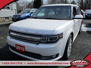 2015 Ford Flex ALL-WHEEL DRIVE LIMITED EDITION 7 PASSENGER 3.5L