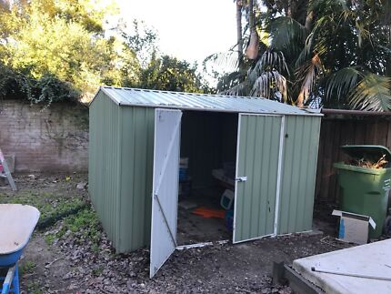 Garden Sheds Gumtree 3.0x3.0x2.1m garden shed + 2 shelving units | sheds & storage