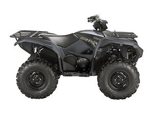 2018 Yamaha Grizzly EPS Gray (steel wheels)