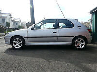 Peugeot 306 d'turbo silver diesel breaking 3 Door parts spares petrol 5 door silver