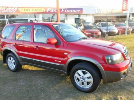 2007 Ford Escape ZC XLT Red 4 Speed Automatic Wagon Kippa-ring Redcliffe Area Preview
