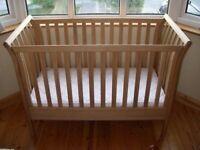 Mama & Papas Aiken Oak Cot/junior bed