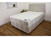 Clean but used, stain-free double divan. £25 collection only.